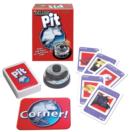 Winning Moves Current Version of Pit with updated cards like Gold, Platinum and Cocoa