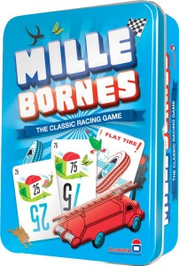mille borne blue tin with cards