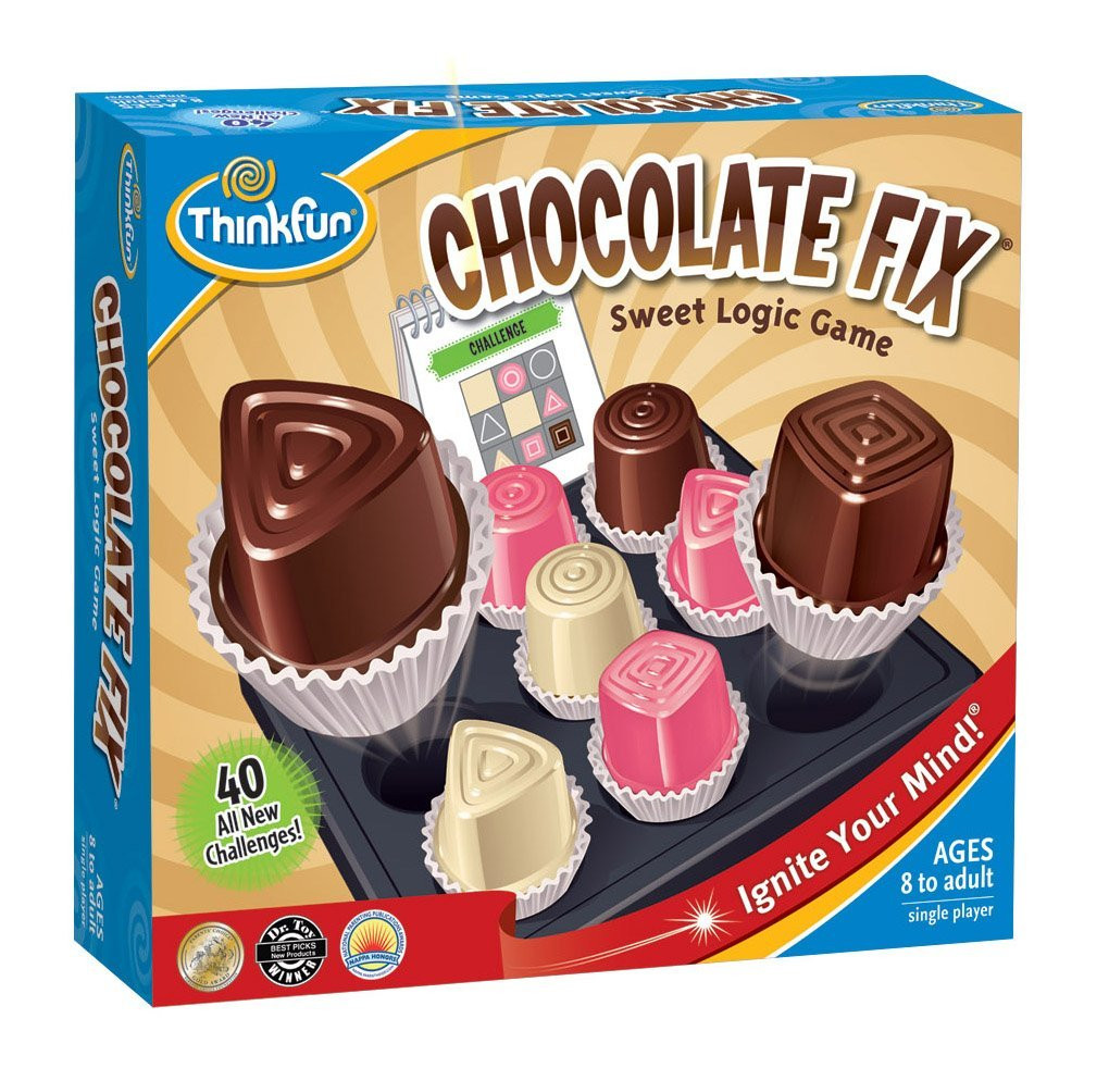 Chocolate Fix: Because 2 weeks after Easter your mom doesn't need more candy.
