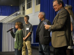 Four Guys at the Young Inventor Challenge award ceremony