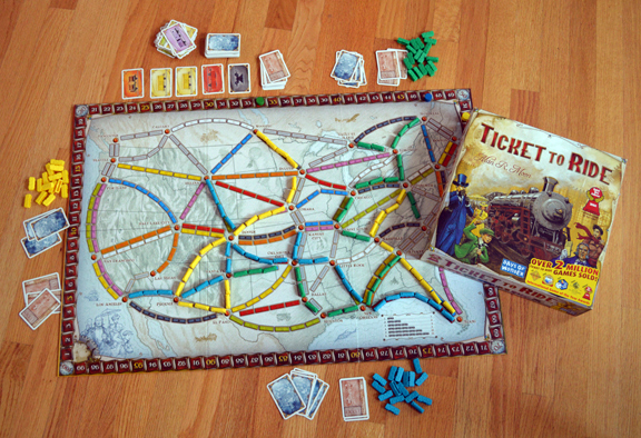 Ticket To Ride: Hop on this one!