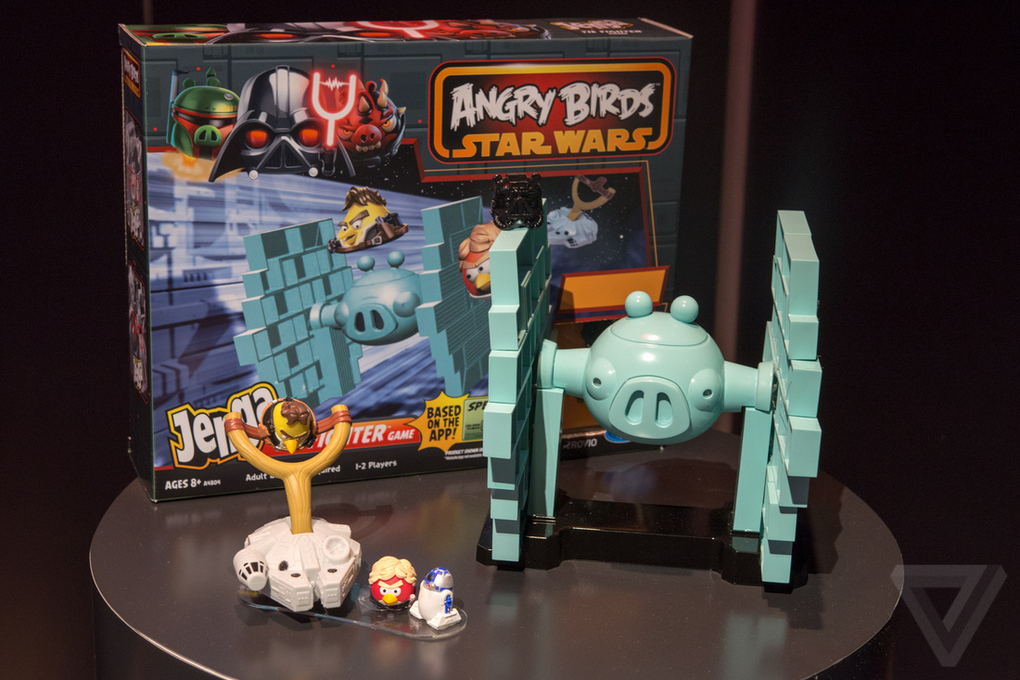 Angry Birds Star Wars Toys : The angry birds star wars ii toys are out let s play while we