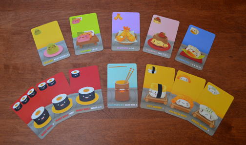 Sushi Go All Cards