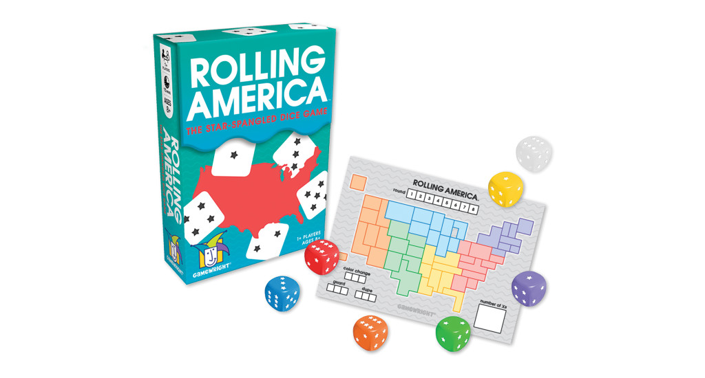 Rolling America: Fun playing solo OR with a group!