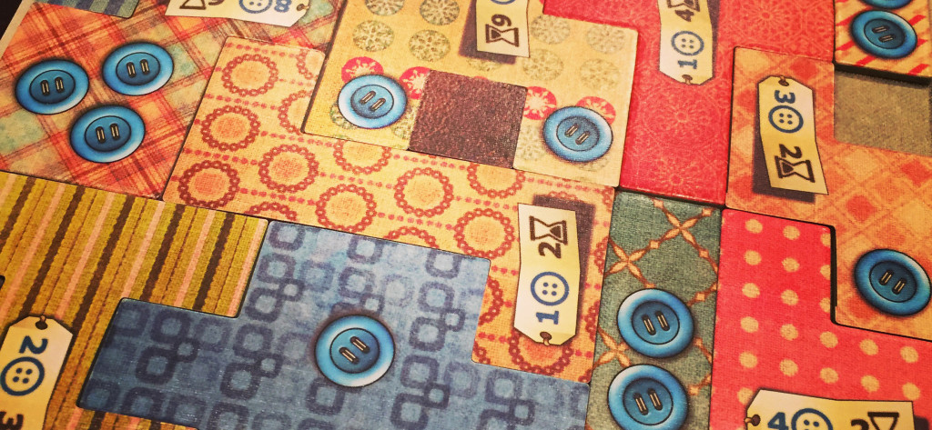 Patchwork: I LOVE this 2-player game
