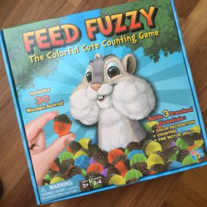 Feed Fuzzy box with a squirrel with big cheeks
