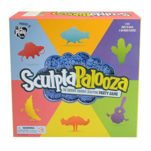 SculpaPalooza game box showing playfoam in different shapes