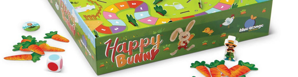 Happy Bunny: Blue Orange Cooperative Preschool Game From Peggy Brown