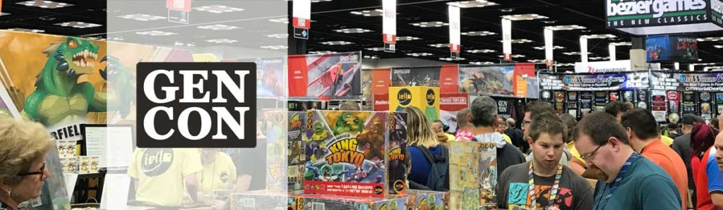 Gen Con 2018: I went, saw, and played! (and then brought a ton home)