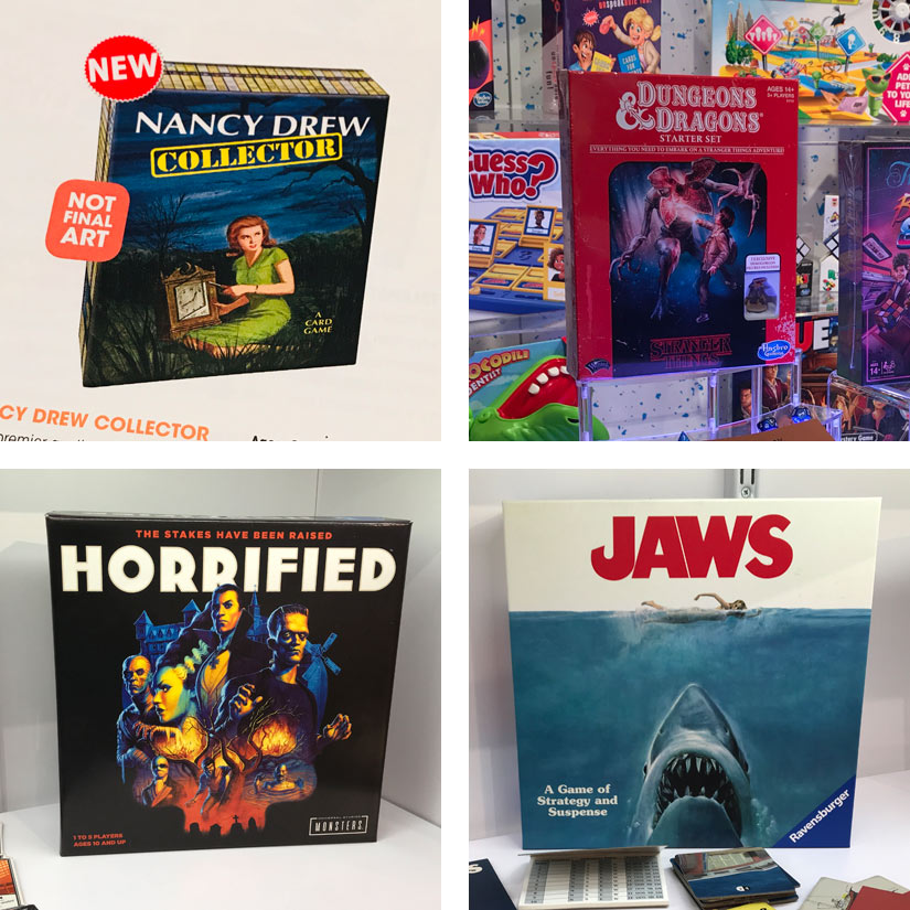 Eye-catching licenses seen at NY Toy Fair
