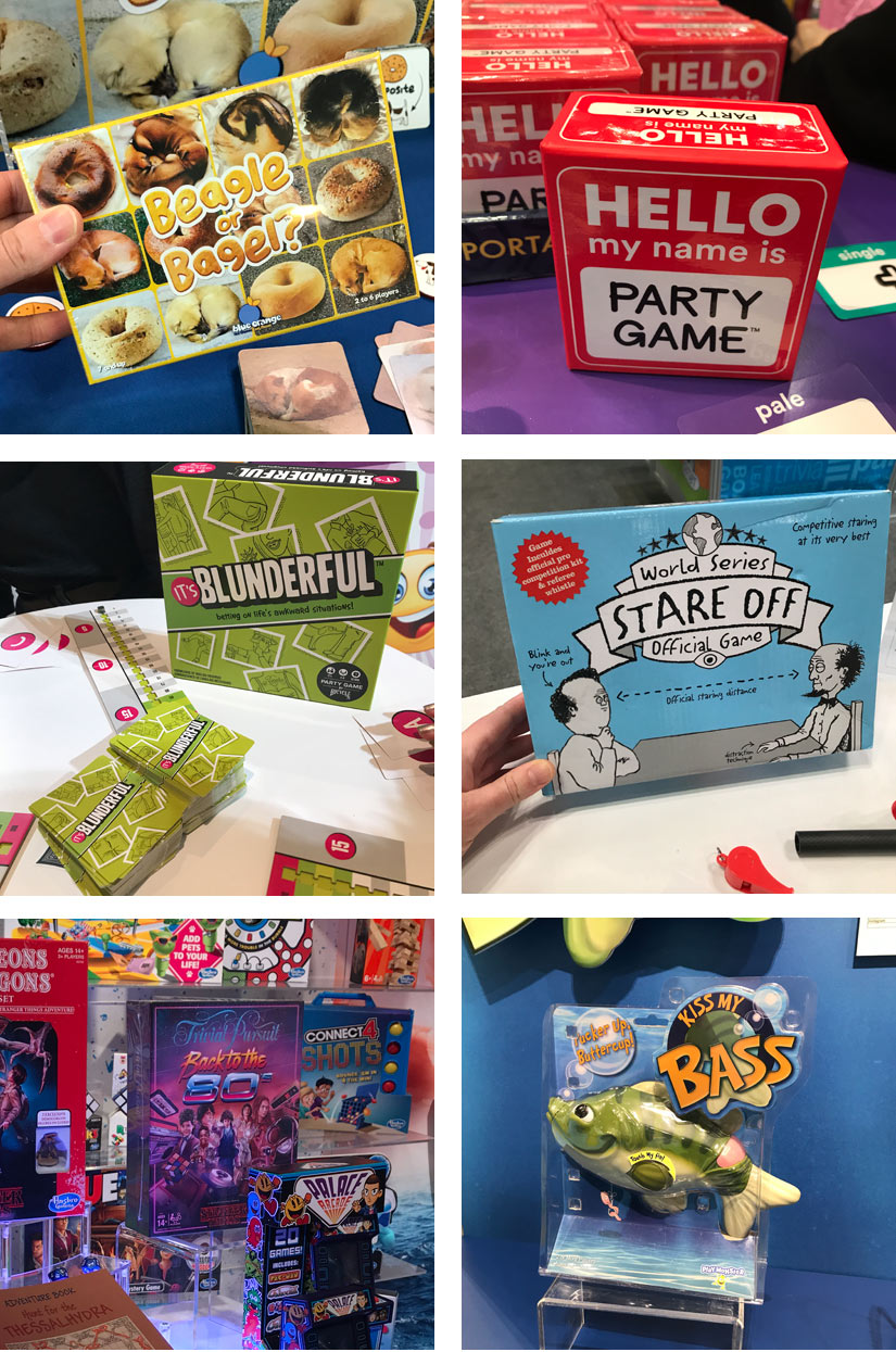 Shelf Laugh Games from Toy Fair