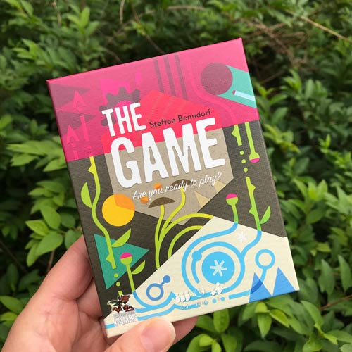 The game box front