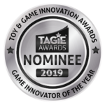 tagie awards nominee seal silver game innovator of the year 2019