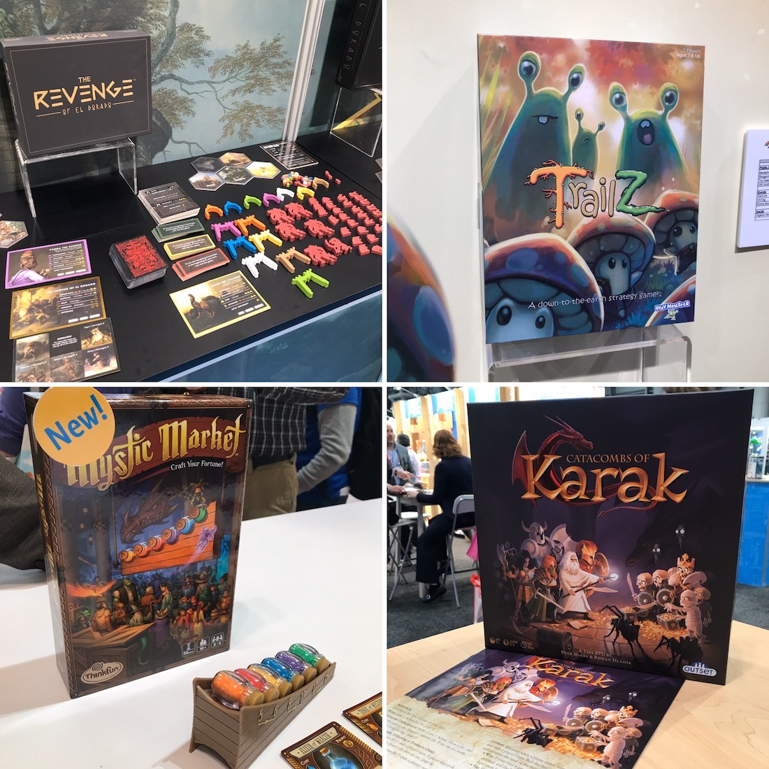Light Strategy Games from Toy Fair 2020