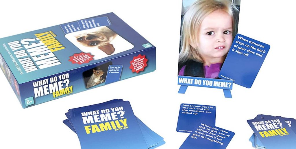 What Do You Meme? Family: For when family game night is the only game night you're having