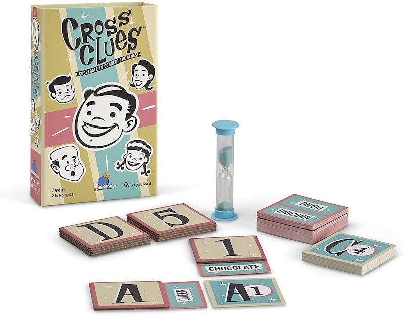 Cross Clues: Cooperative party game for 2+ players