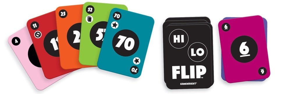 Hi Lo Flip: Card game with fast changing fortunes