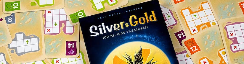 Silver & Gold: A dry erase treasure of a game