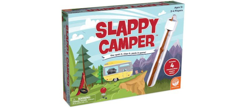 Slappy Camper: Camping-themed fun at home