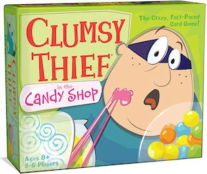 clumsy thief in the candy shop game box
