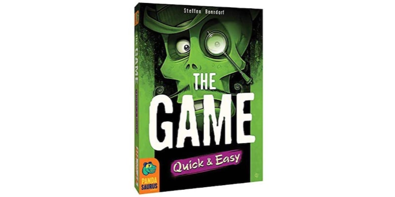 The Game Quick and Easy: 2 cards and fewer numbers